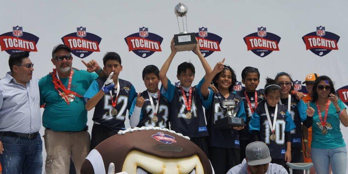 Jaguars de CDMX ganan Nacional de Tochito 'Joe Gibbs' NFL 2018