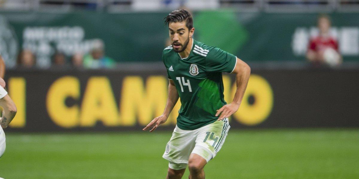 Selección Mexicana viaja con 12 jugadores para gira en EU