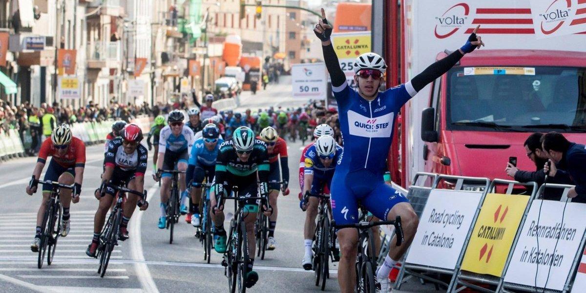 Palabras de Álvaro Hodeg tras ganar etapa en Volta a Cataluña