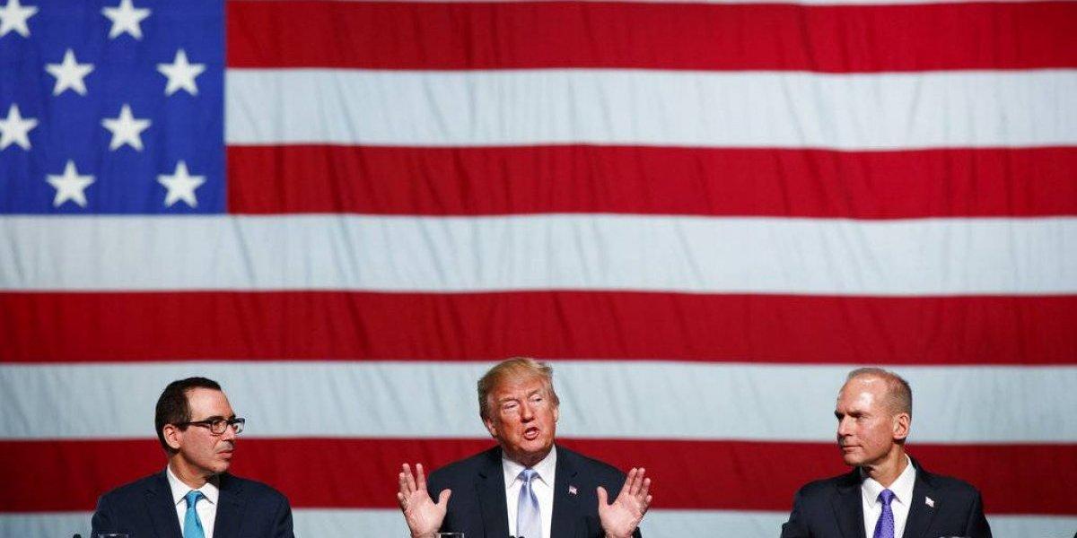La fortuna de Trump ha bajado en 400 millones de dólares desde que asumió la presidencia