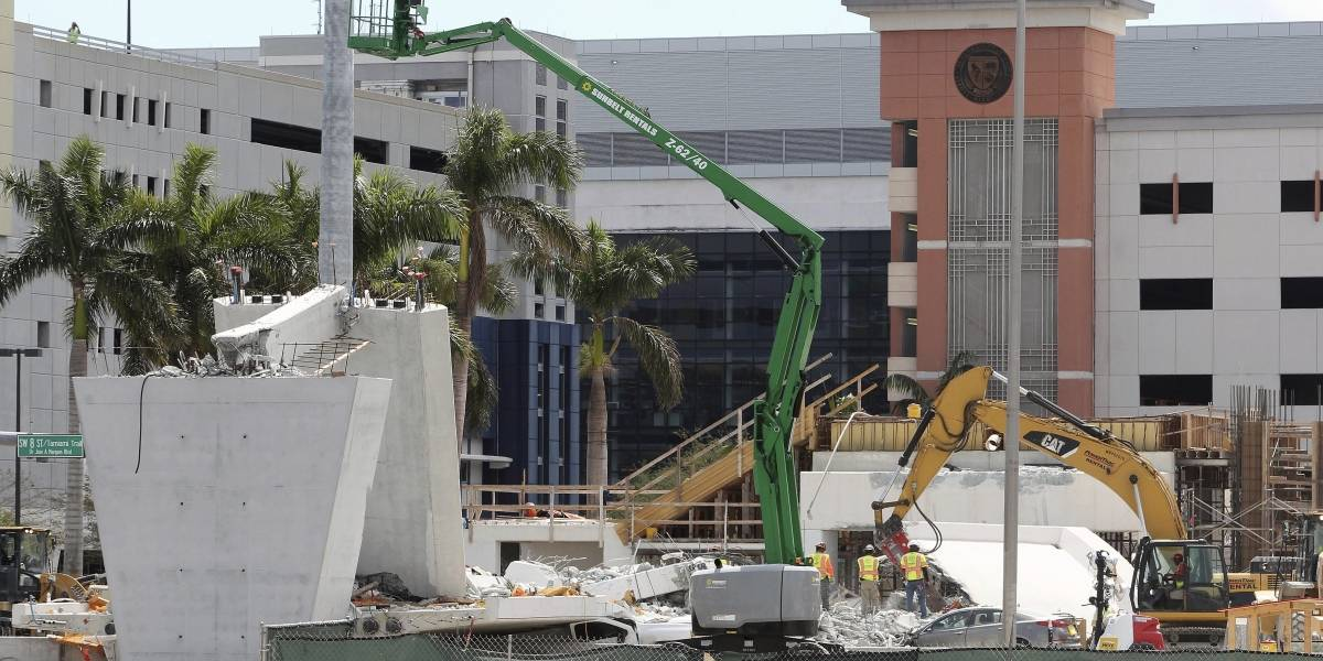 Universidad de Miami reanuda clases tras derrumbe de puente