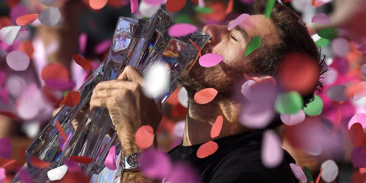 Del Potro doma a Federer en Indian Wells
