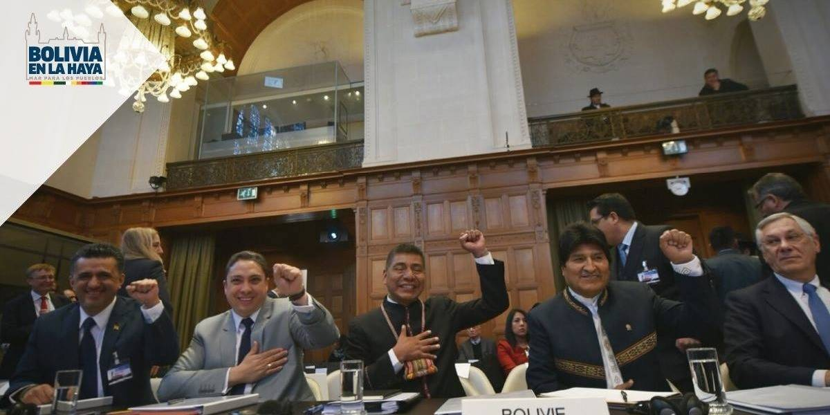 Bolivia presenta alegato en La Haya por su salida al mar