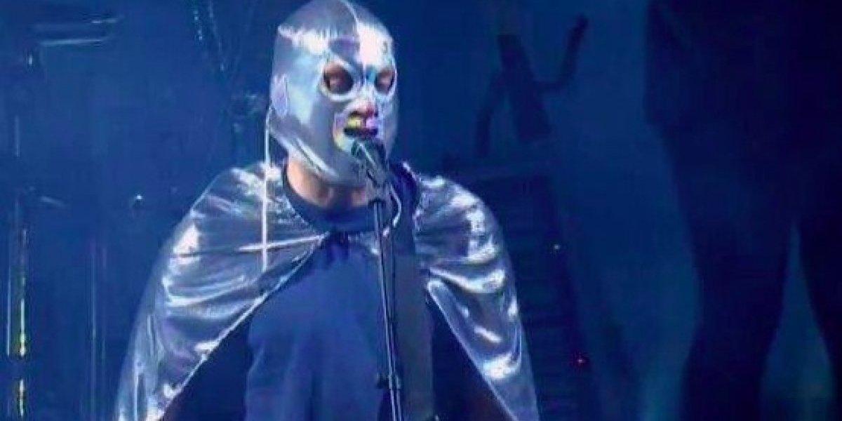 Damon Albarn homenajea a El Santo en el Vive Latino 2018