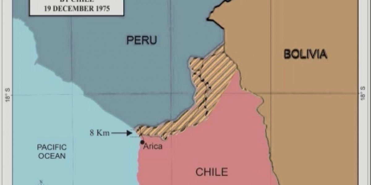 """Alegatos en La Haya: los mapas con los que recordaron el día en que Pinochet ofreció """"mar por tierra"""" a Bolivia"""