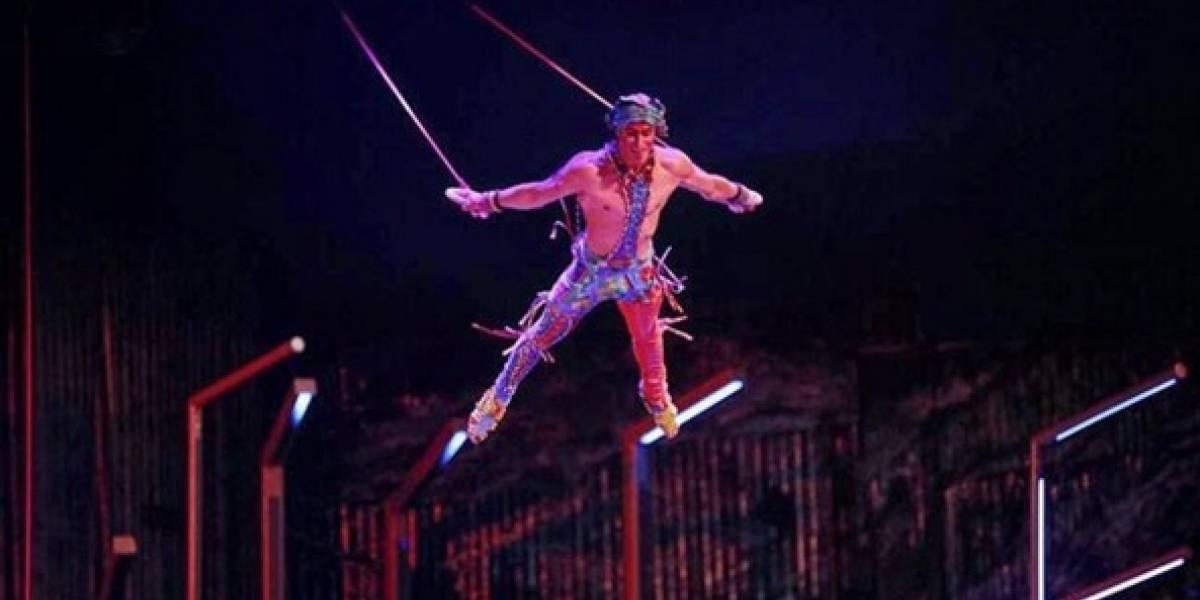 Acrobata do Cirque du Soleil morre durante apresentação