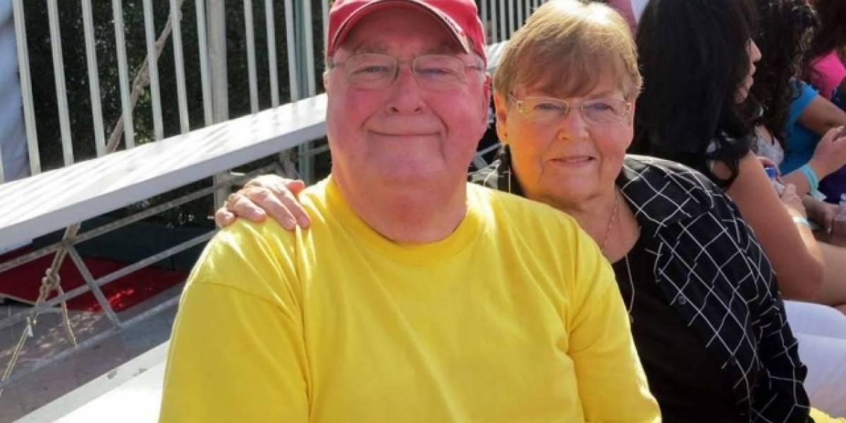 Casal recria primeiro encontro para comemorar 55 anos de casamento