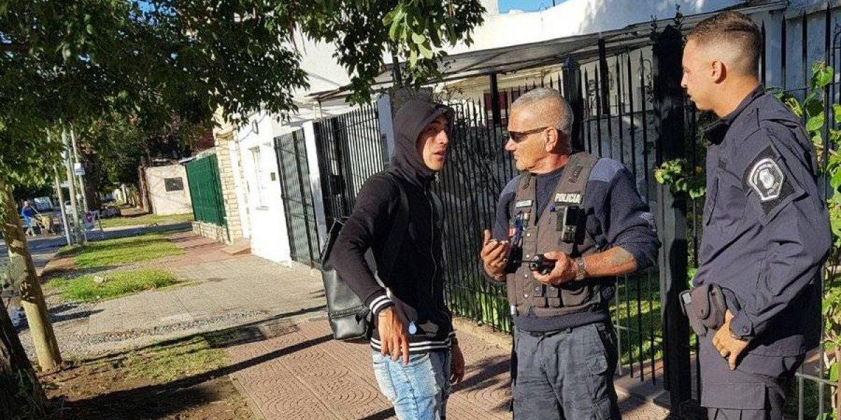 Nuevo escándalo del crack de Racing en Argentina: fue detenido, se negó a la alcoholemia y quiso sobornar al policía