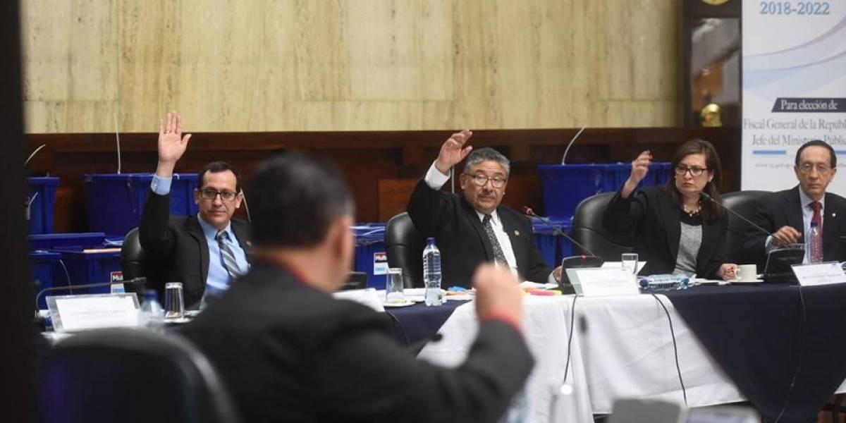 Comisión de Postulación evalúa impedimentos presentados contra aspirantes a Fiscal General