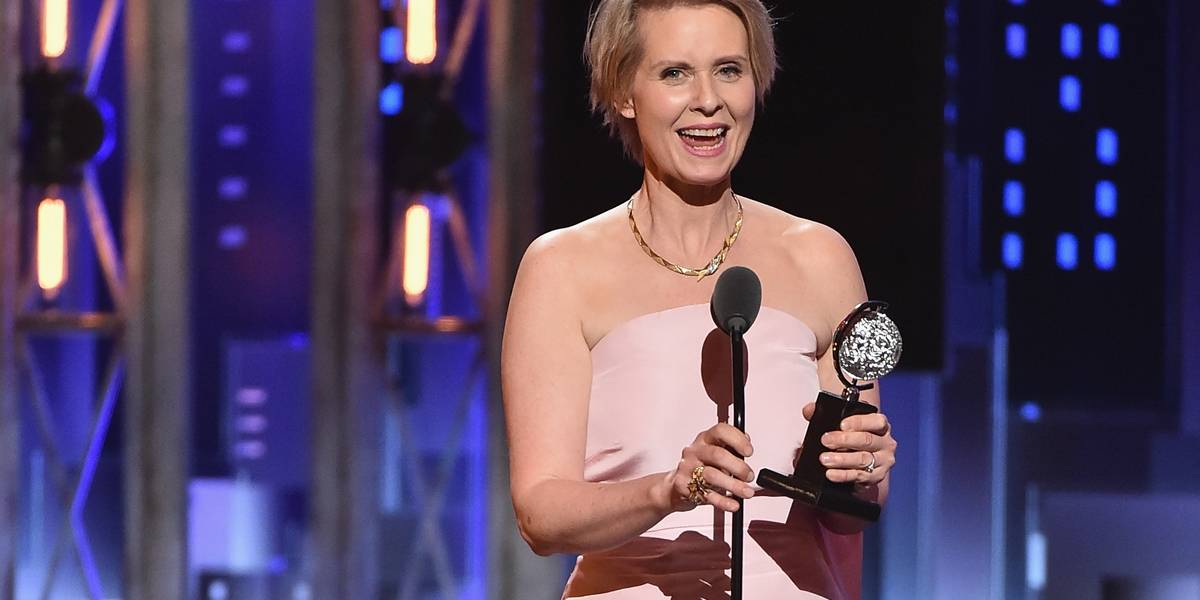 Cynthia Nixon, de 'Sex and the City', se candidata ao governo estadual de Nova York