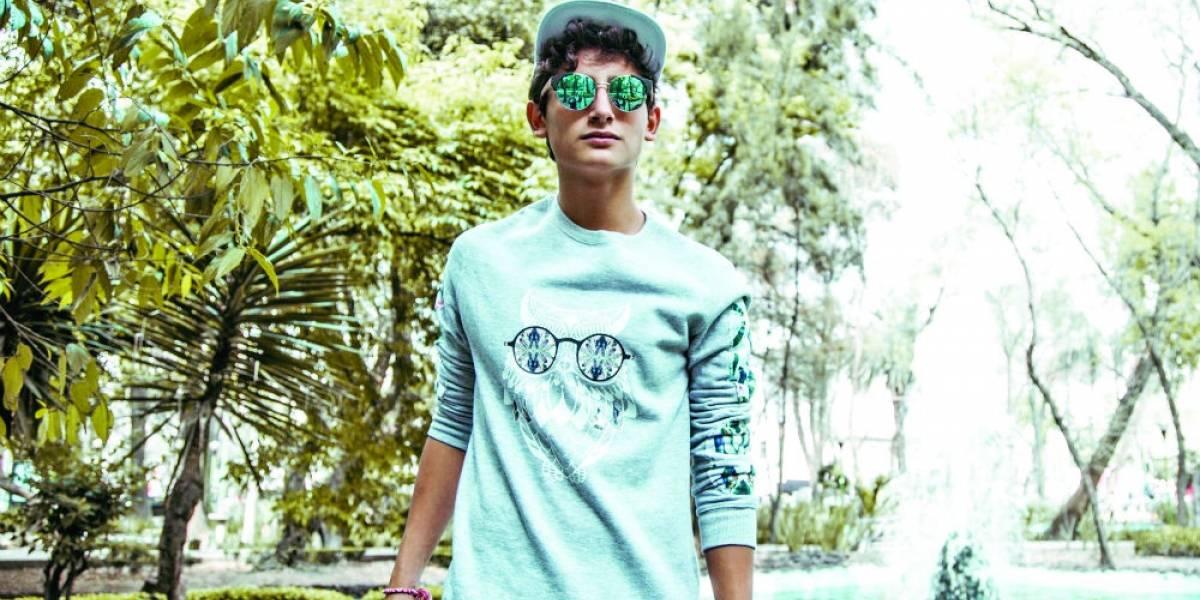 Emilio, hijo de Niurka y Juan Osorio, tiene regio debut en la música