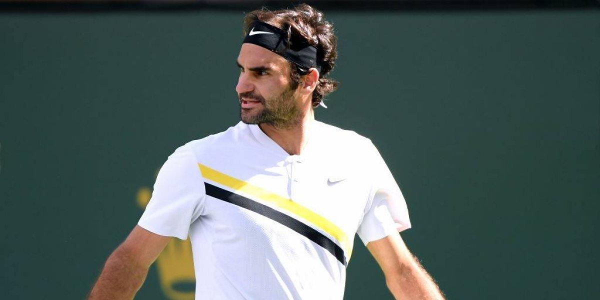 Roger Federer podría perder el número uno en Miami