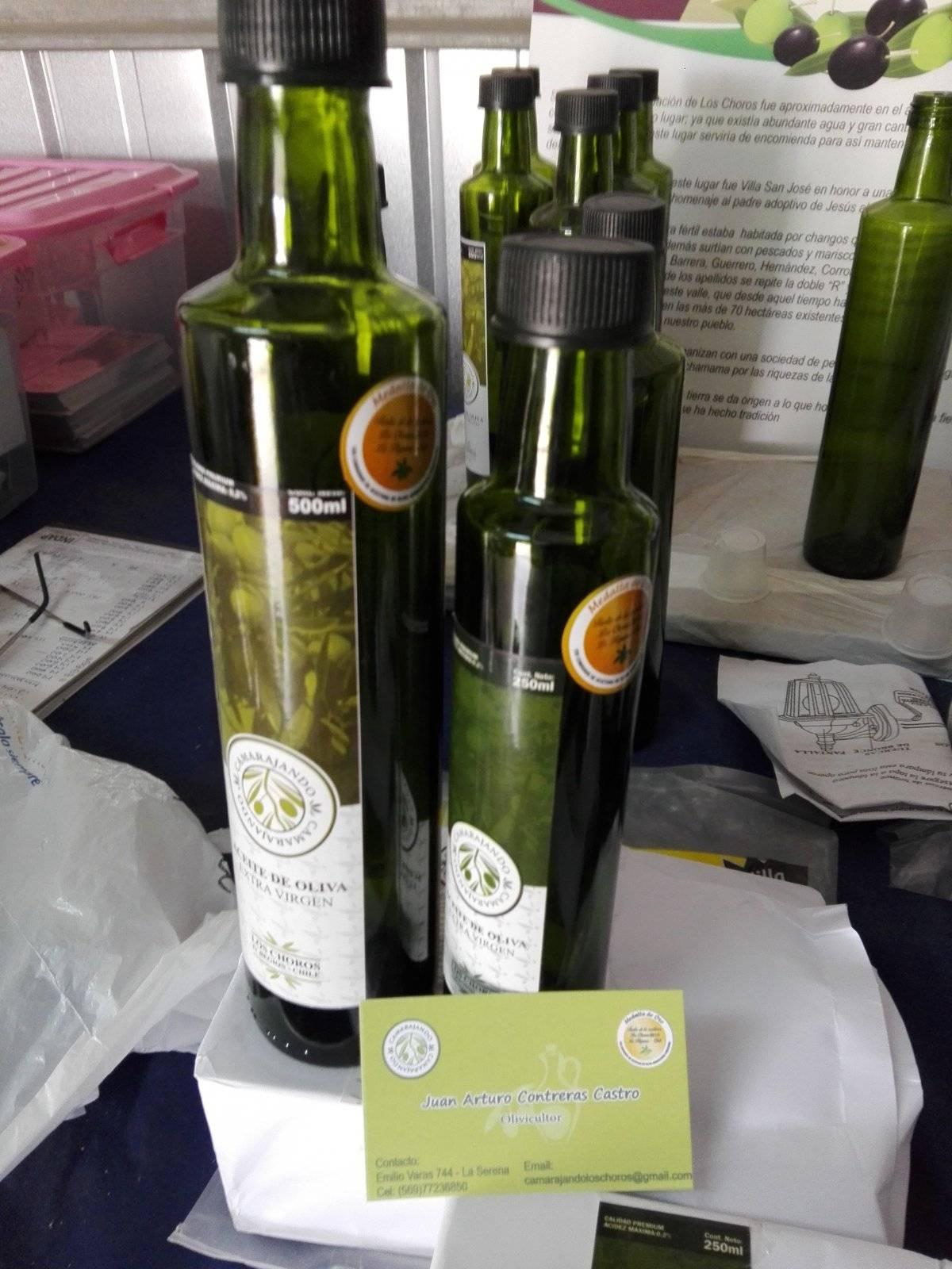 Aceite de Oliva chileno