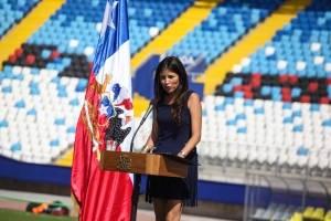 Karen Rojo, alcaldesa de Antofagasta