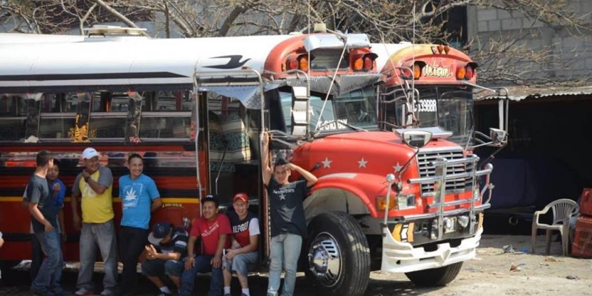 Pilotos de autobuses de Tierra Nueva prestan servicio irregular