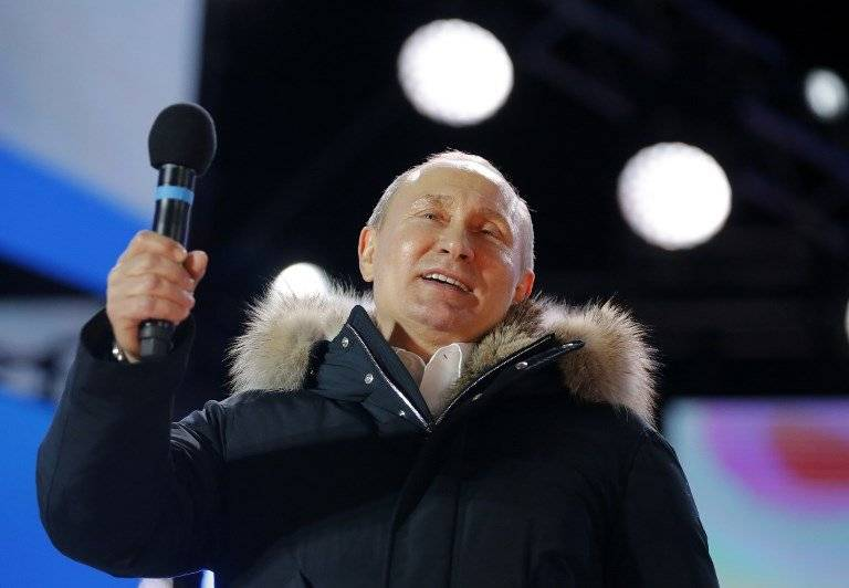 Vladimir Putin gana la reelección en Rusia