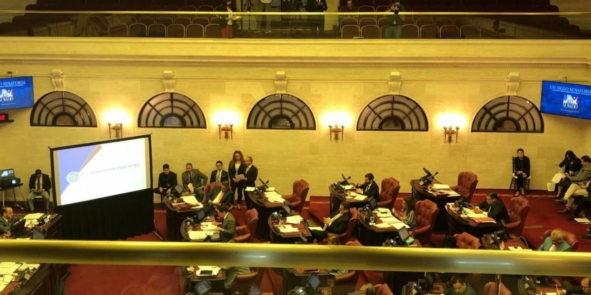 Senado da paso a reforma educativa