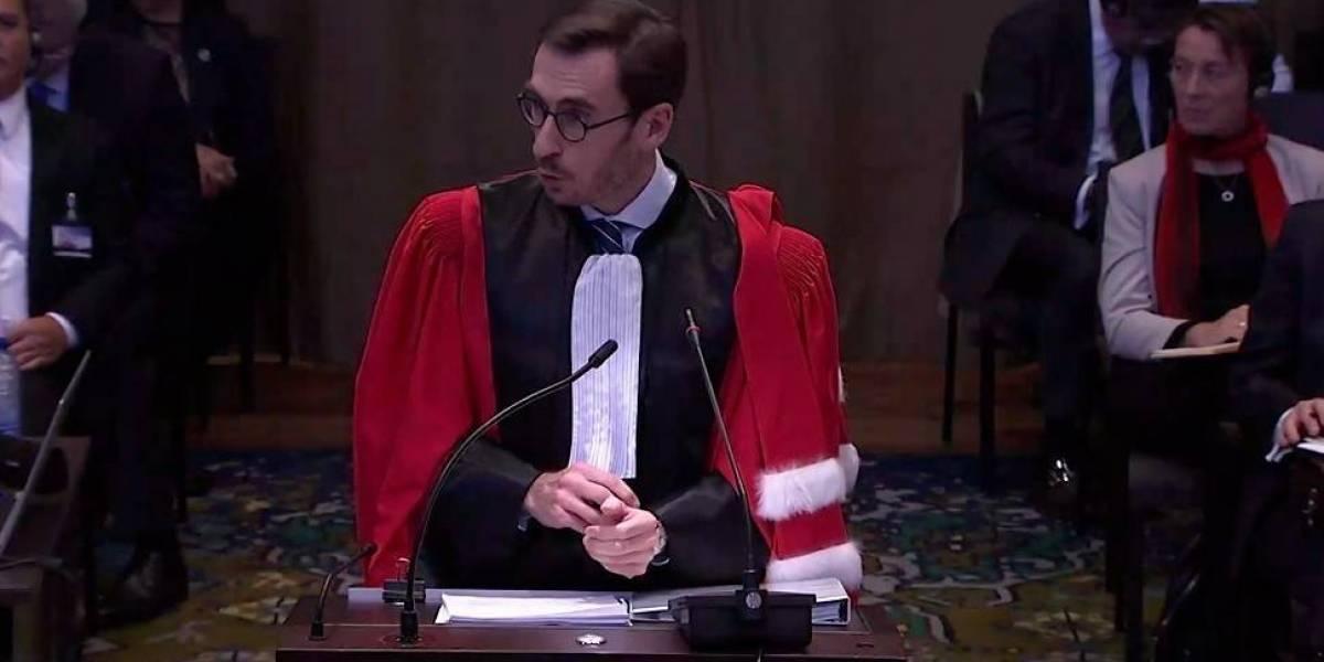"""Alegatos en La Haya: Abogado de Bolivia ahora acusa a Chile de tener una """"imaginación que no tiene límites"""""""