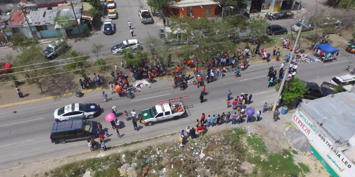 Atropellan a 5 personas en tianguis de Guadalupe, Nuevo León