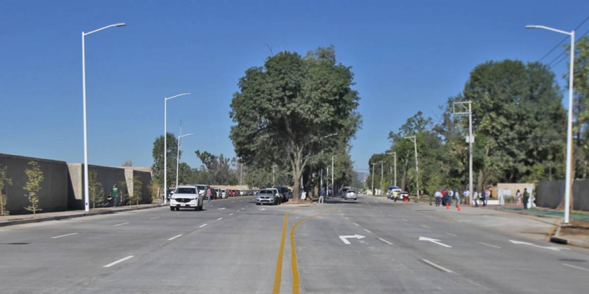 Culminan obras de Ramón Corona, desfogará el tráfico en la zona