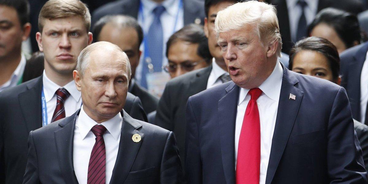 No estaban peleados: Trump felicita a Putin por su reelección
