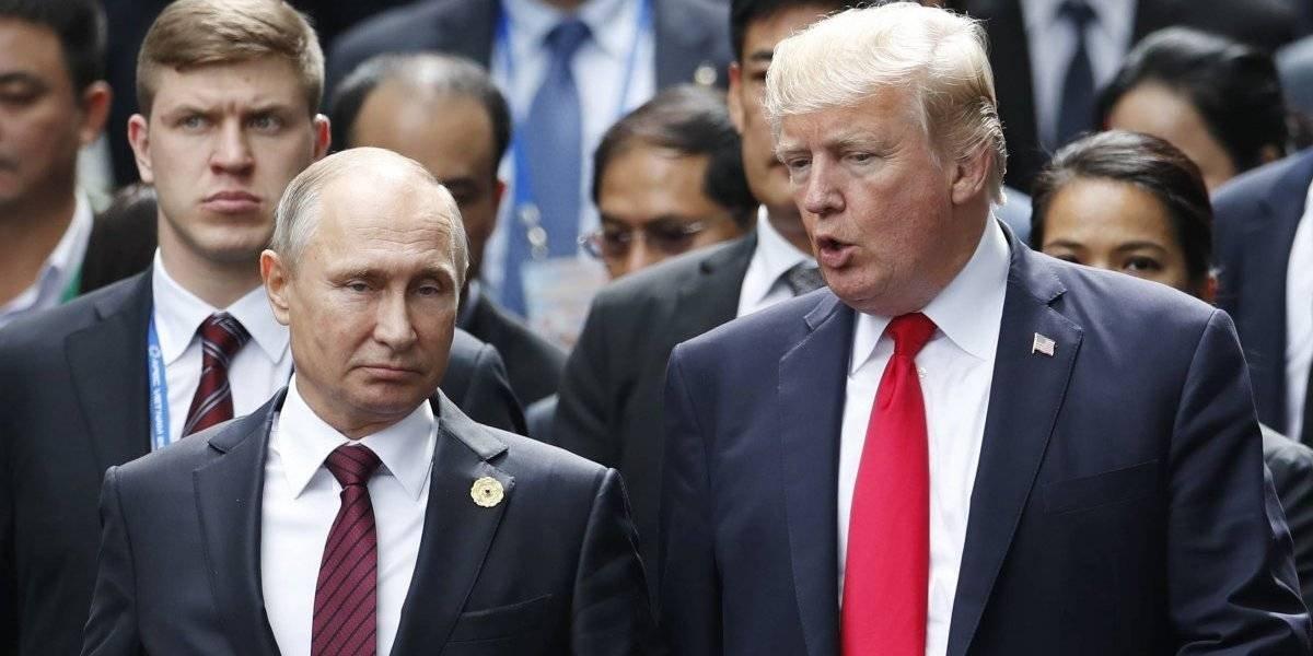 Donald Trump felicita a Putin por su reelección