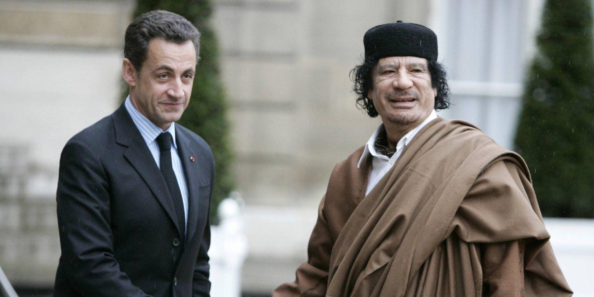 Detienen Nicolas Sarkozy por supuesta financiación ilegal de Libia en su campaña