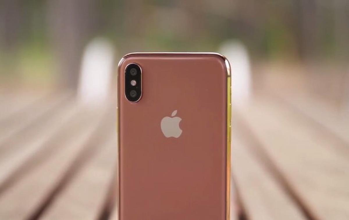 Apple estaría planeando un iPhone X en un nuevo color