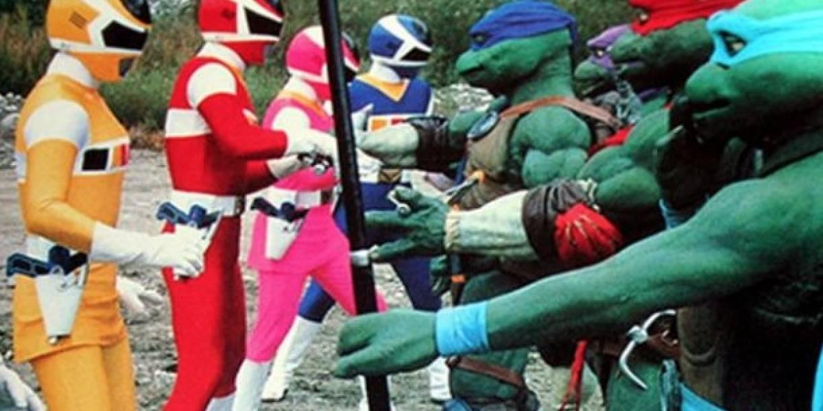 Recuerdan en redes crossover de Tortugas Ninja y los Power Rangers