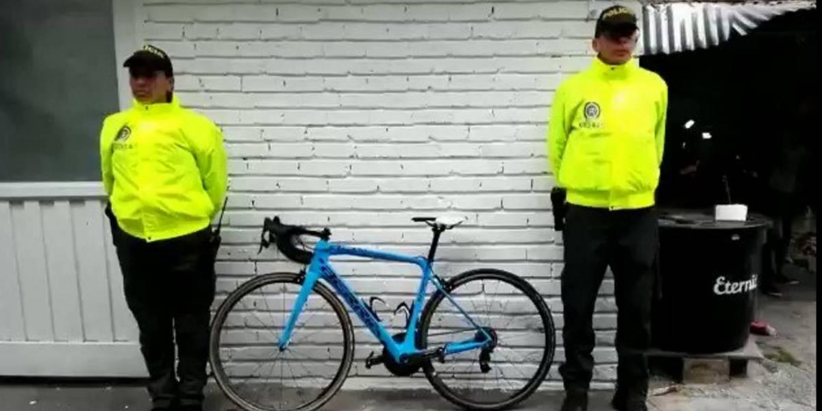 Aunque la Policía recuperó la bicicleta de Óscar Sevilla, el hurto a estos vehículos está disparado en Bogotá