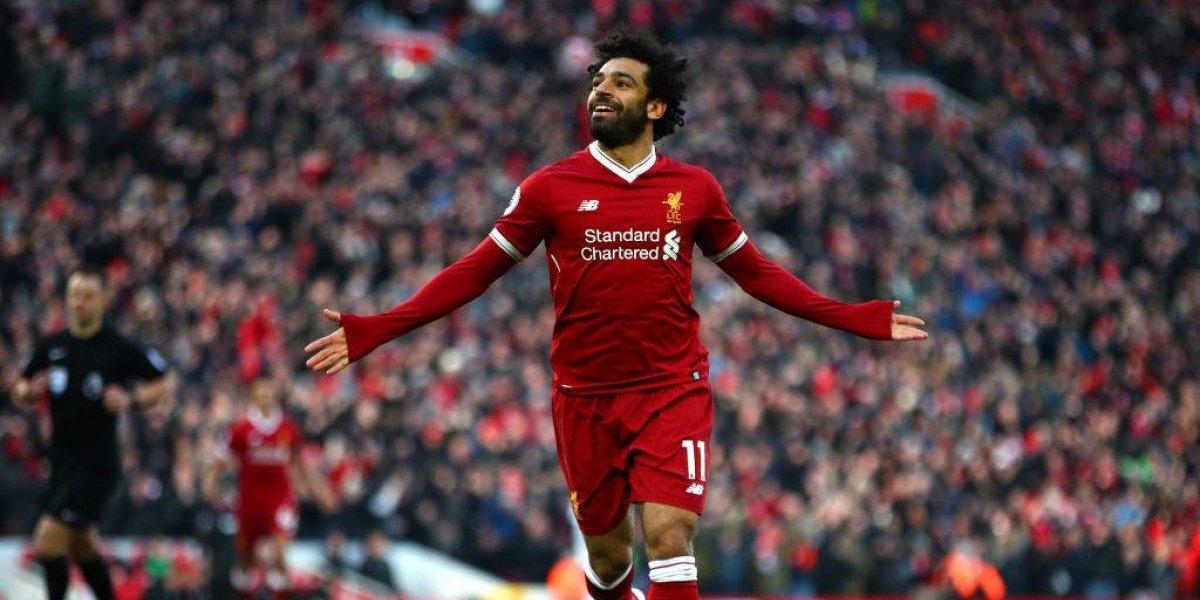 Liverpool pone un precio de locos al pase de su goleador Mohamed Salah