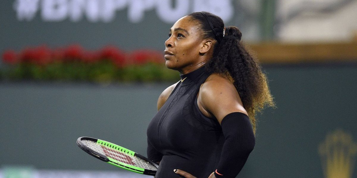 Serena Williams cae 490 lugares en el ranking de la WTA