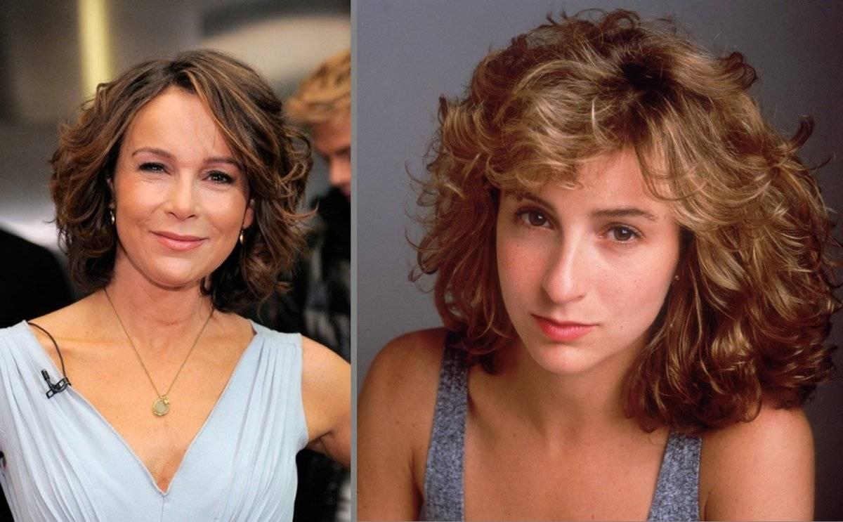 Jennifer Grey, ahora y antes