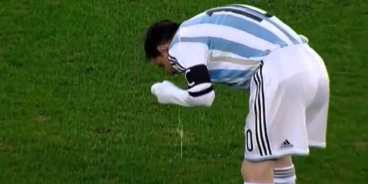 Por fin Lionel Messi revela por qué vomitaba en los partidos