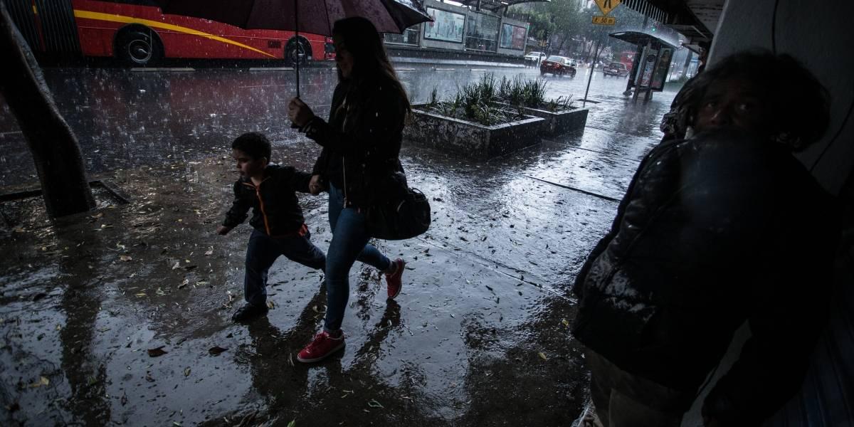 Se esperan fuertes lluvias, tormentas eléctricas y granizadas en casi todo el país
