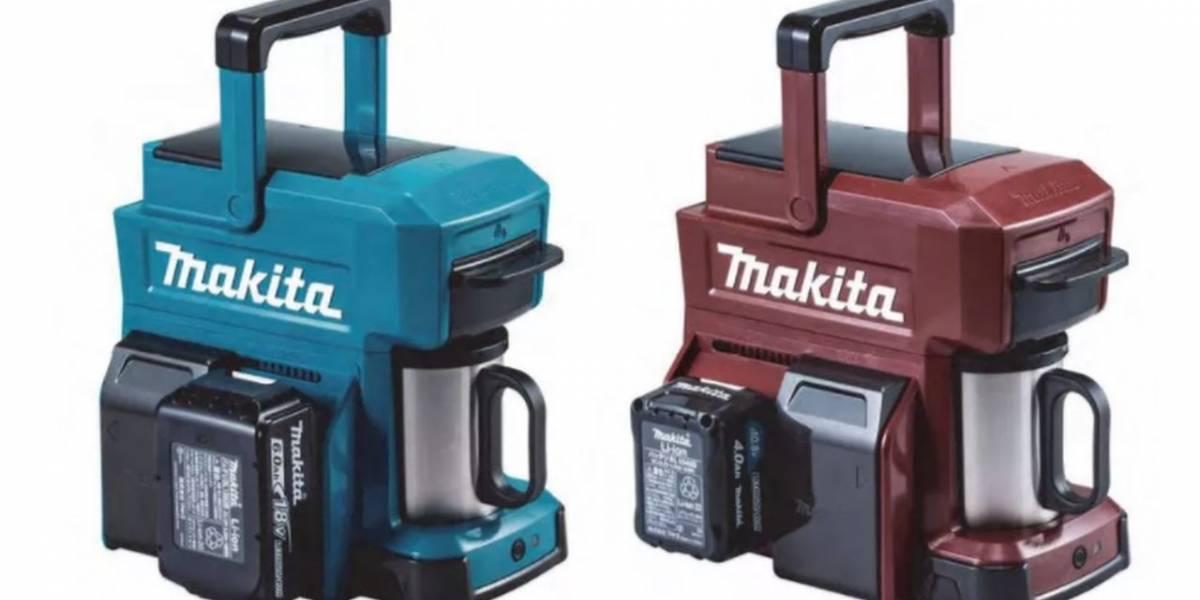 Makita lanza una cafetera impulsada por baterías de herramientas eléctricas