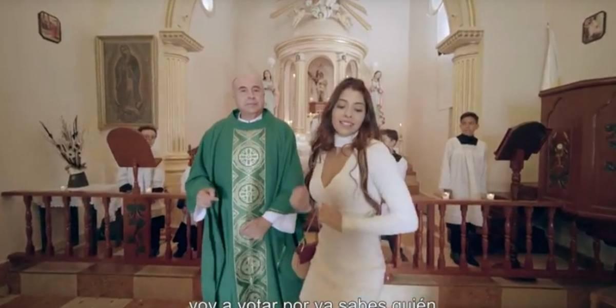 Capilla cobró 15 mil pesos por grabación de 'La niña bien', revela sacerdote