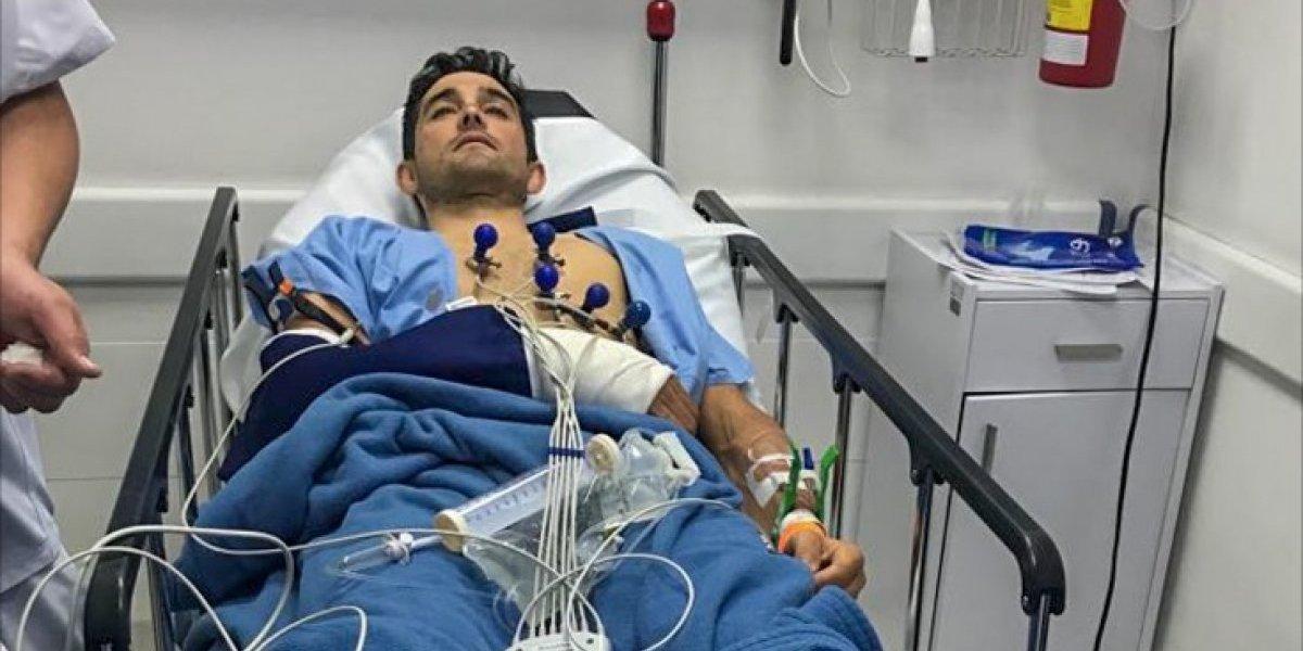 Roban bicicleta a triple campeón de Colombia y tras golpiza es sometido a operación
