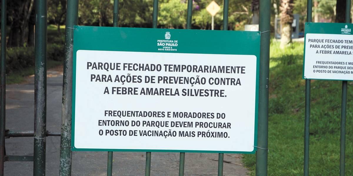 Parques de São Paulo serão reabertos dia 30; veja a lista
