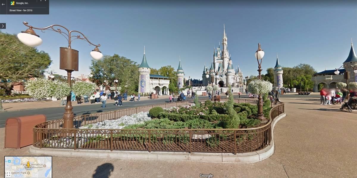 Google Maps libera passeios virtuais em parques da Disney