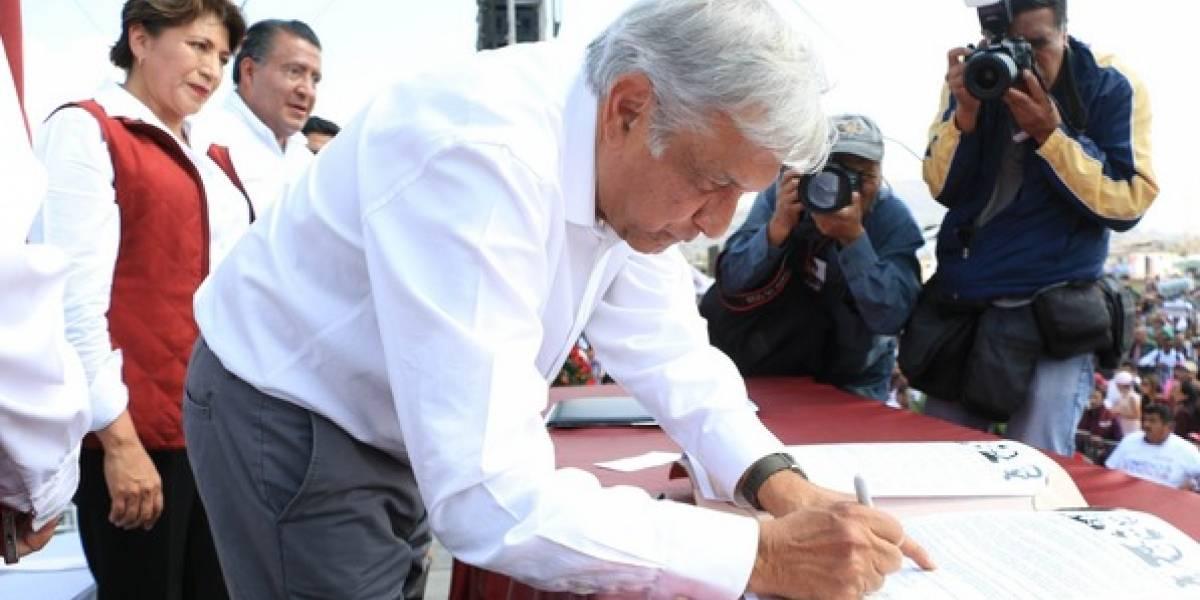 ¿Qué dicen las firmas de Meade, Anaya y AMLO?