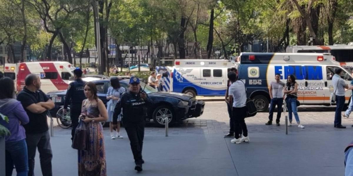 Muere mujer baleada en Reforma 222