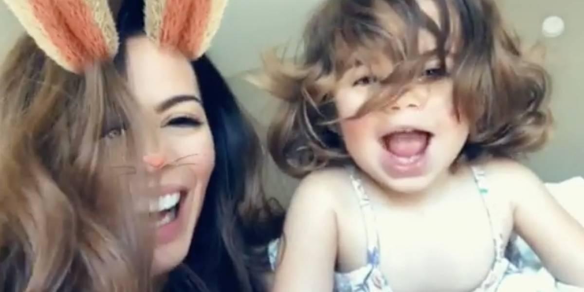 Viviana y Paulina se divierten en cómico video