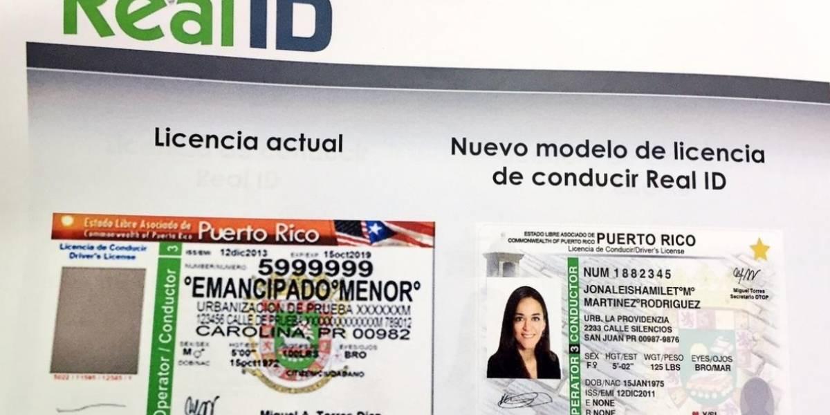"""Anuncian fecha límite para sacar licencias """"Real ID"""""""