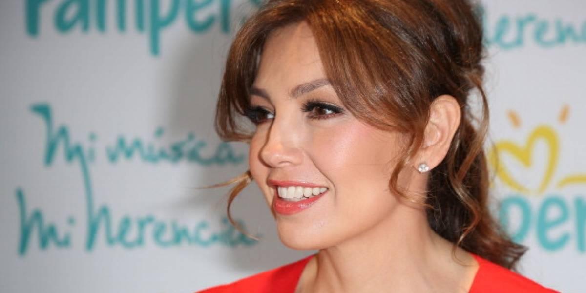 """FOTO. Thalía vuelve a ser criticada por """"exceso de botox"""""""