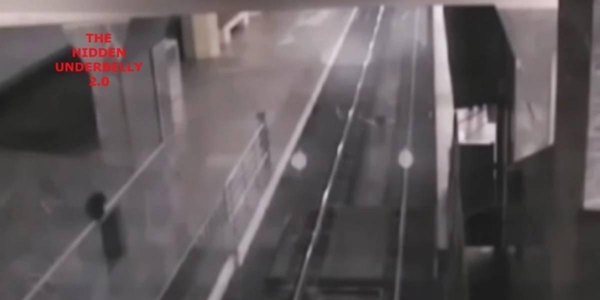 Vídeo de 'trem fantasma' que para em estação intriga as redes sociais