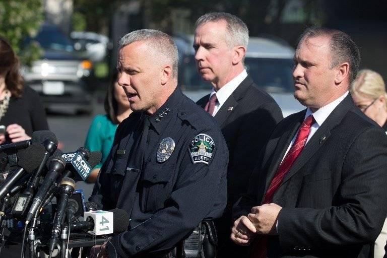 Bryan Manley, jefe de policía de Austin