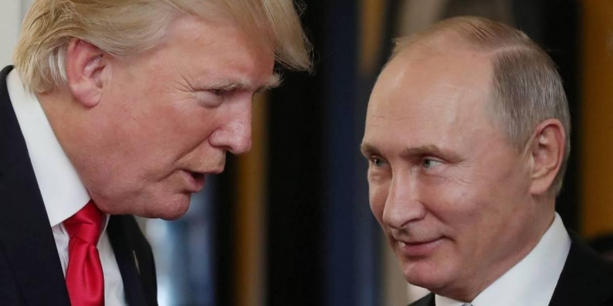 Trump llama por teléfono a Putin tras reelección en Rusia