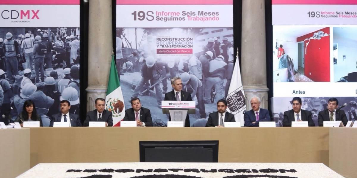 Reconstrucción de la CDMX, equiparable a la de un país: Mancera