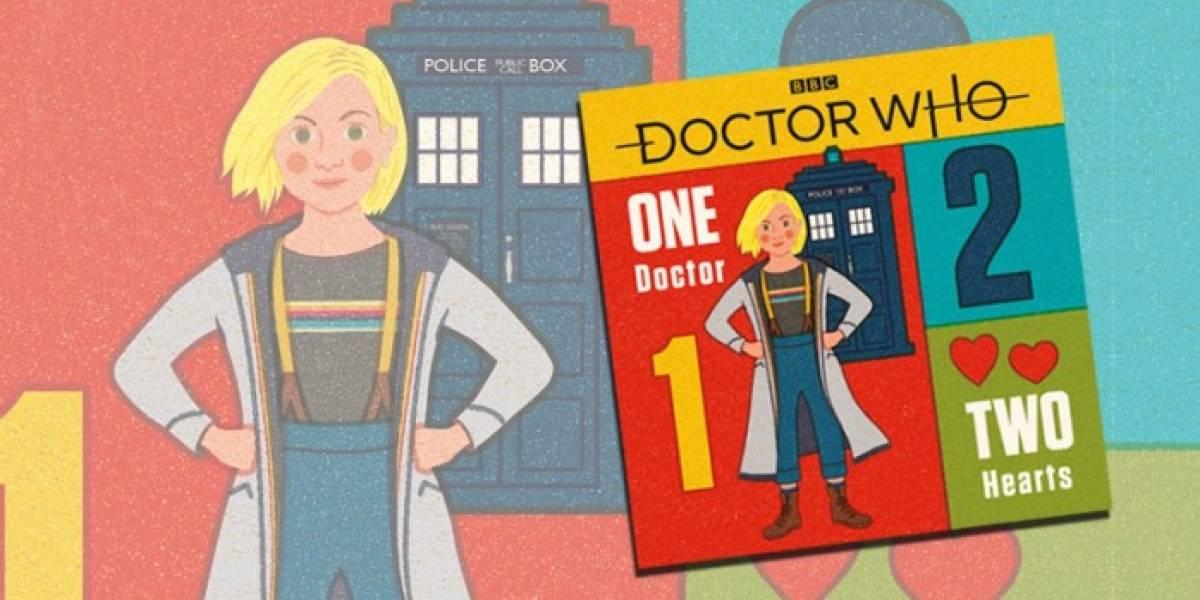 La BBC prepara libros dedicados a los fans más jóvenes del decimotercer Doctor Who